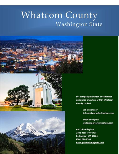 Whatcom County Profile Cover Page