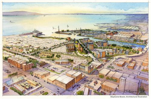 Waterfront Artist Rendering