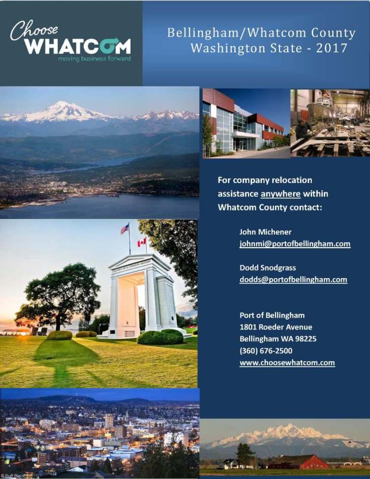 Whatcom County Profile 2017 cover page
