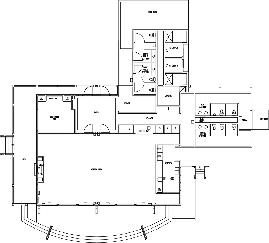 Squalicum Boathouse Floor Plan