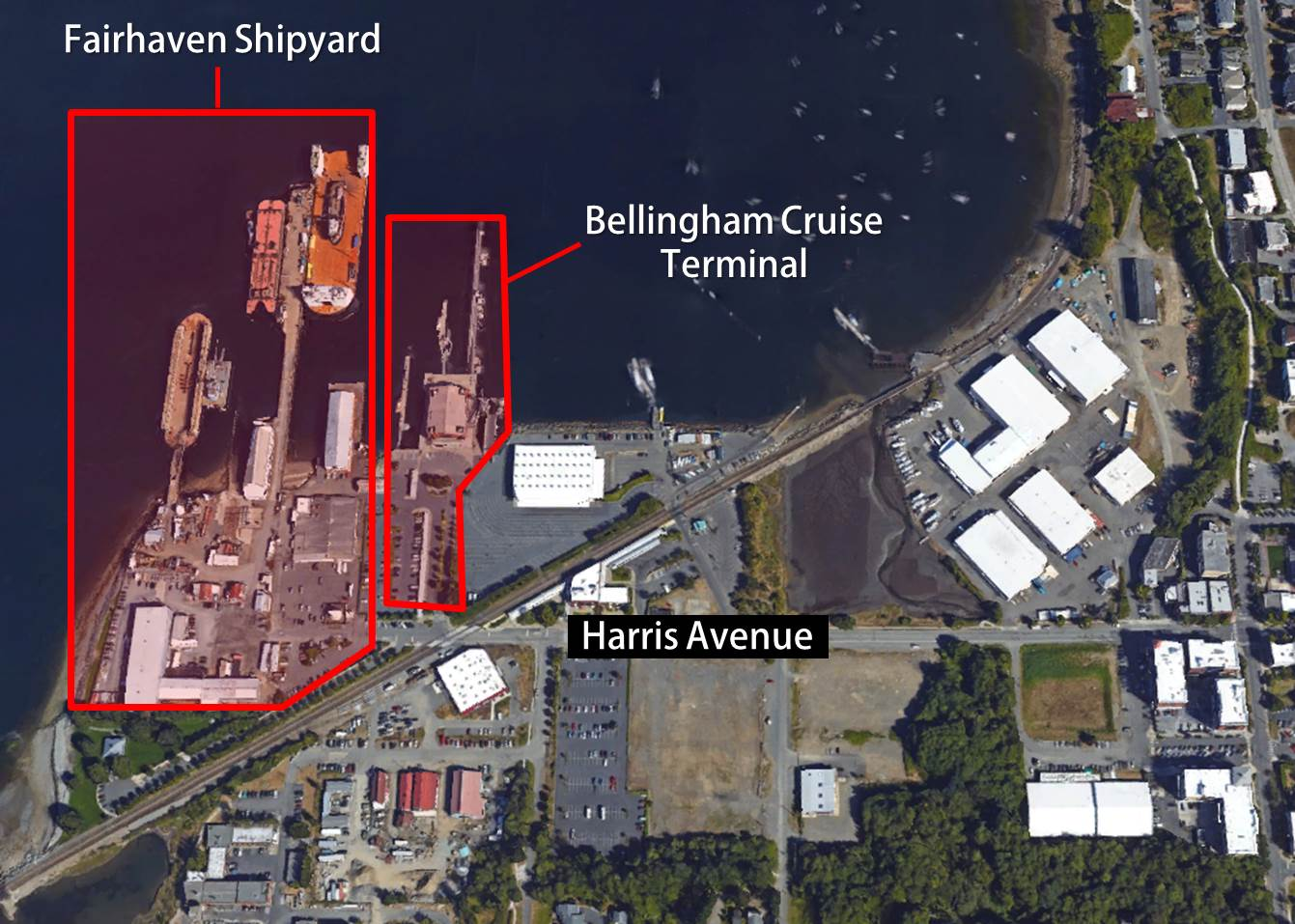 Fairhaven Shipyard Map